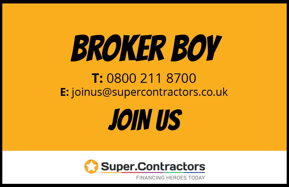 Broker boy calling card