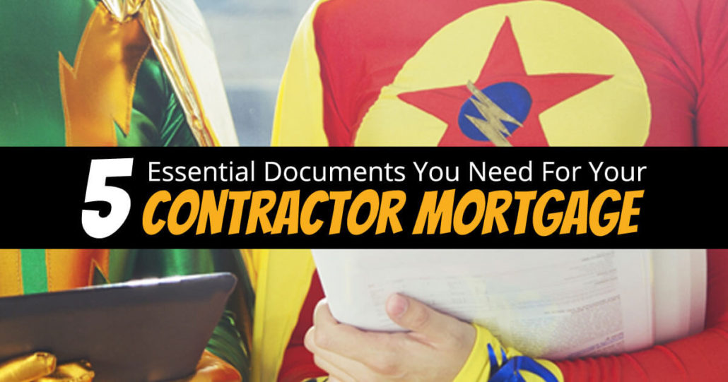 5 documents for contractor mortgages super contractors for What documents do i need for a home equity loan
