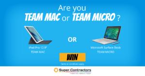 Microsoft Surface Pro Versus Apple Mac iPad Pro